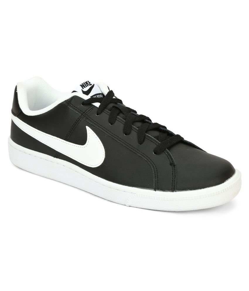 Nike Court Royale Black Tennis Shoes - Buy Nike Court ...