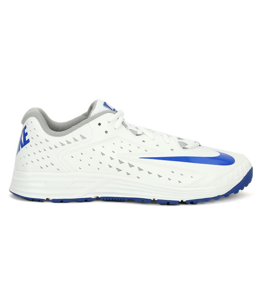 ... Nike POTENTIAL 2 Trainer White Cricket Shoes ...