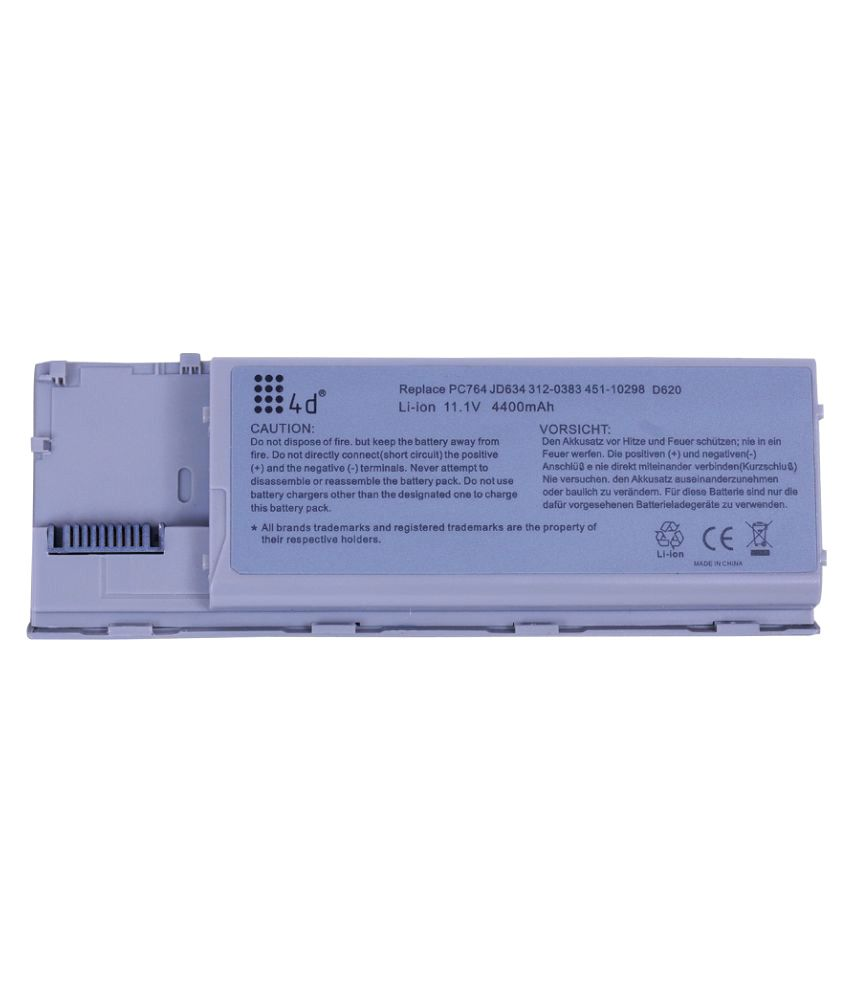 4D Impex Laptop battery Compatible For Dell LATD-0RD300-6CLB