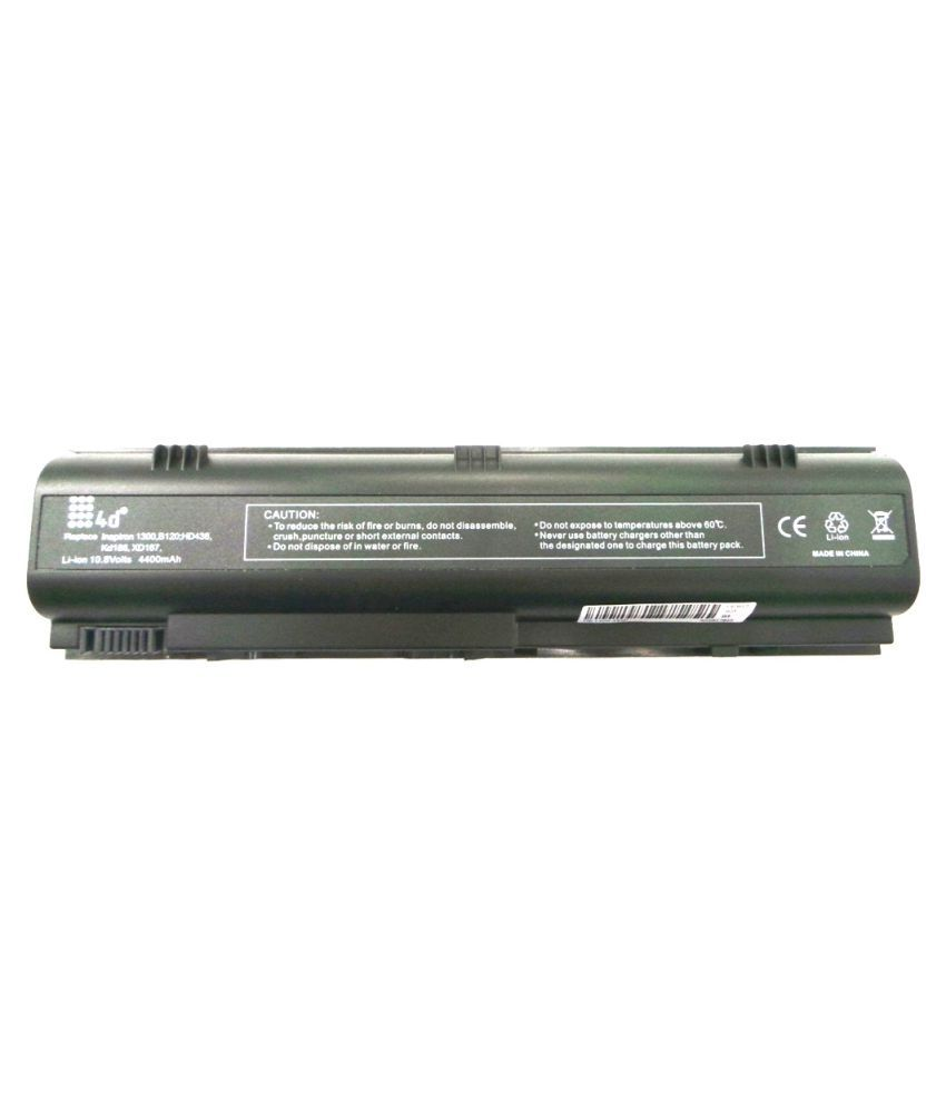 4d Impex Laptop battery Compatible For Dell 4d-DELL-INSP-XD184-6CLB