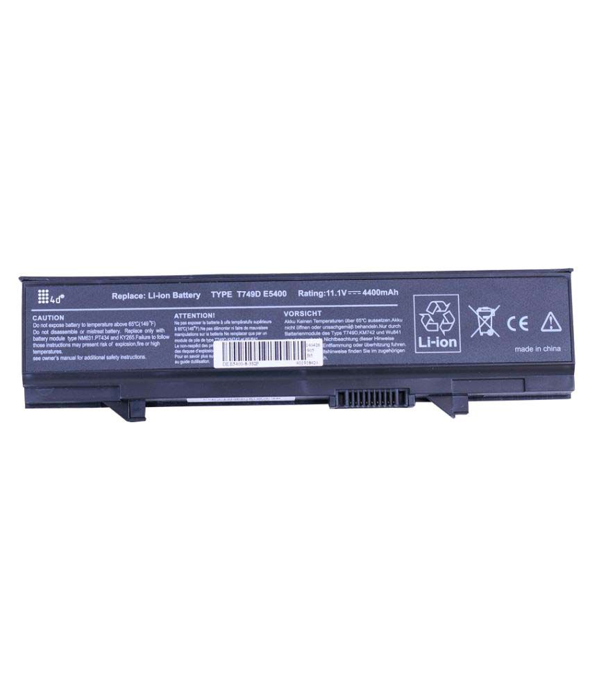 4d Impex Laptop battery Compatible For Dell LATD-RM661-6CLB