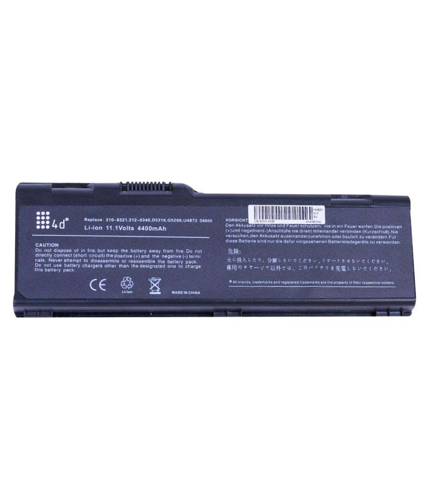4d Impex Laptop battery Compatible For Dell 4d-DELL-XPS-M170-6CLB