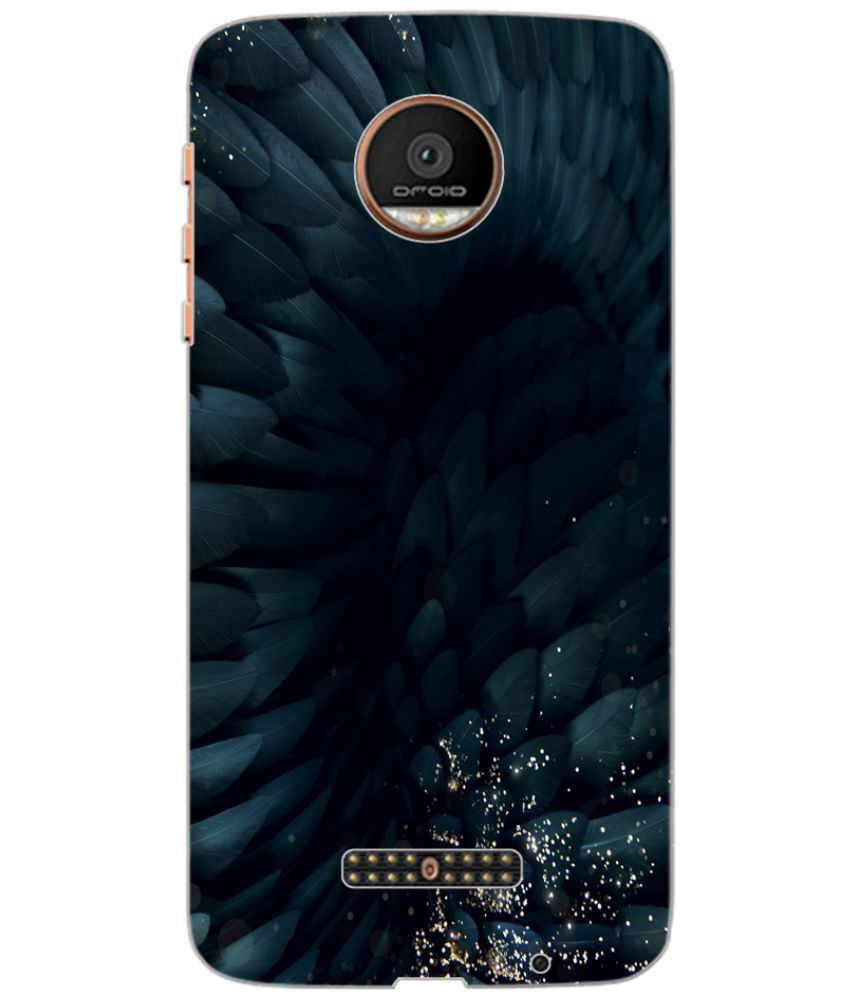 newest 5e1ed 2372b Moto Z Force Droid Printed Cover By ColourCraft