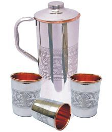 Veda Home & Lifestyle Veda Silver 1600 Fridge Bottle Set Of 4