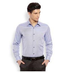 Raymond Blue Formal Regular Fit Shirt