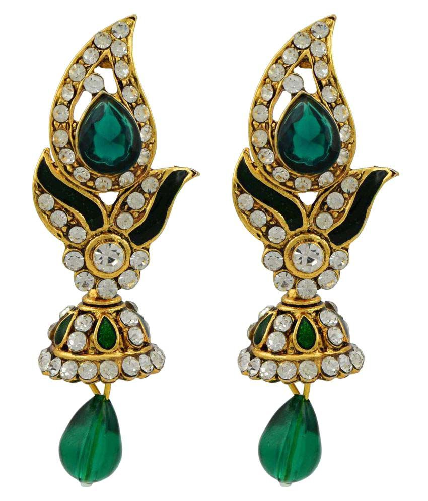 High Trendz Stylish Traditional Ethnic Hanging Earrings