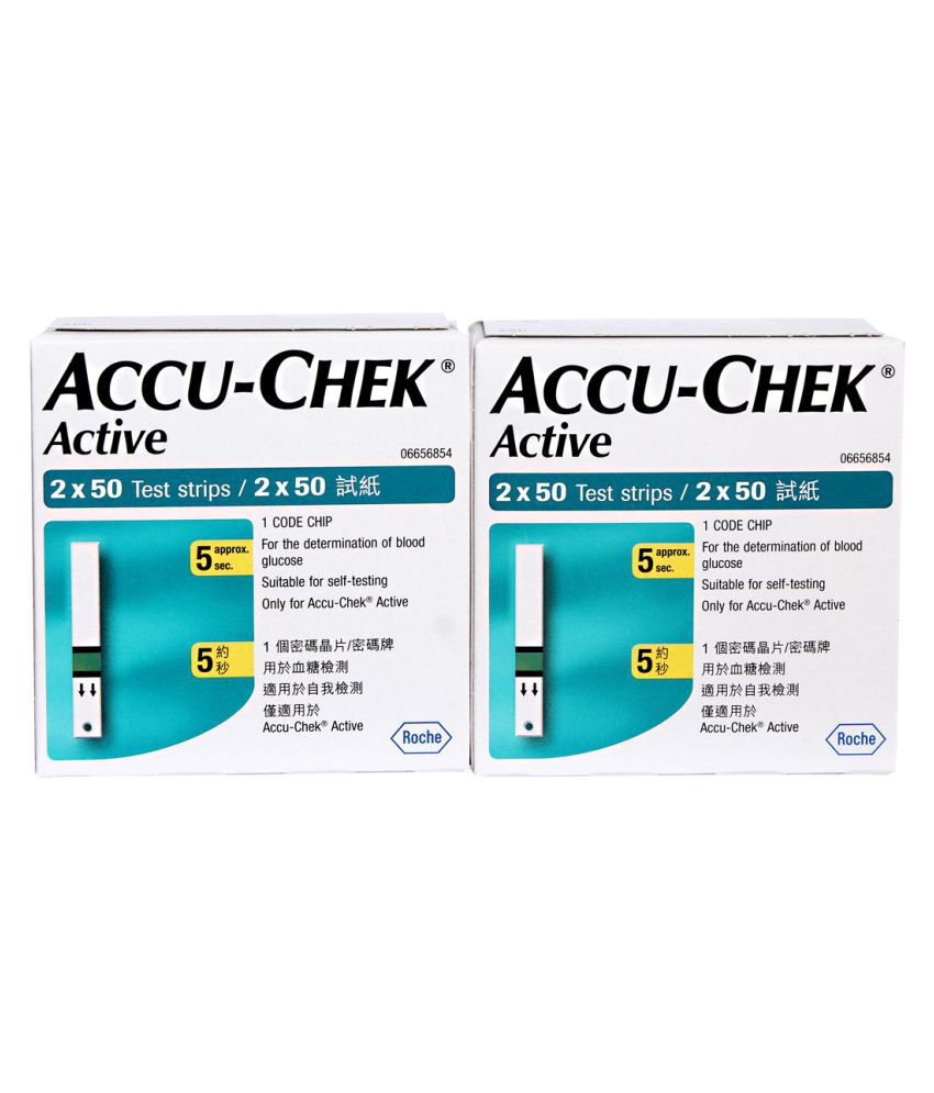 Accu Chek Active 200 Test Strips January 2018 Buy Online At Best Strip Check Roche