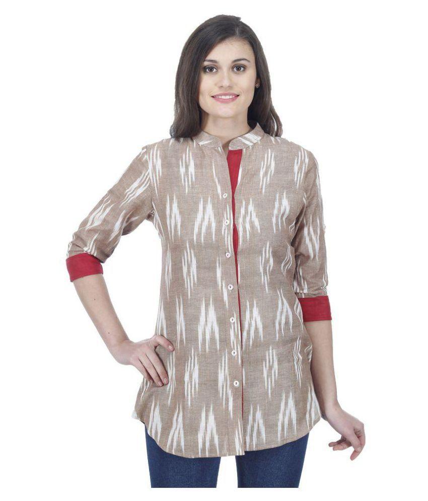 Drap Cotton Tunics - Buy Drap Cotton Tunics Online at Best Prices ...