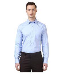 Park Avenue Blue Formal Regular Fit Shirt