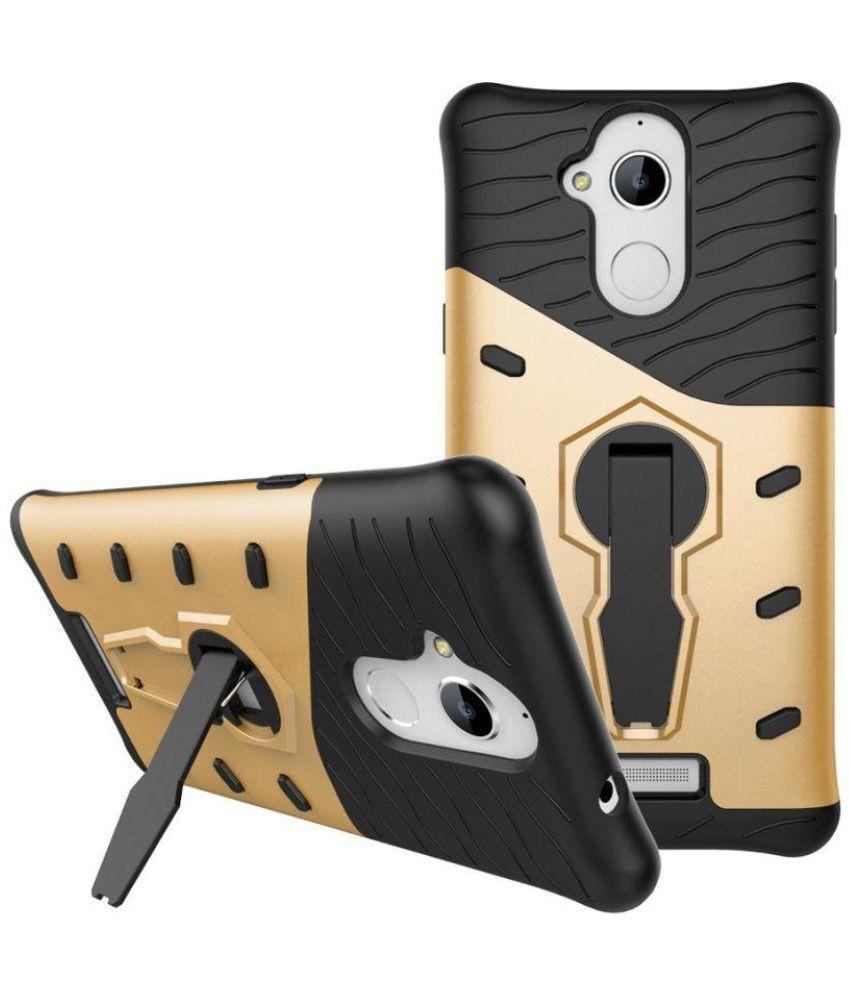 best service 5fcb4 13379 Coolpad Note 5 Cases with Stands Bracevor - Golden