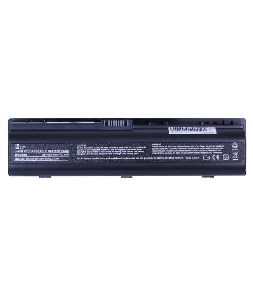 4d Impex Laptop battery Compatible For HP 4d-HP-PVLN-DV2102EU-6CLB