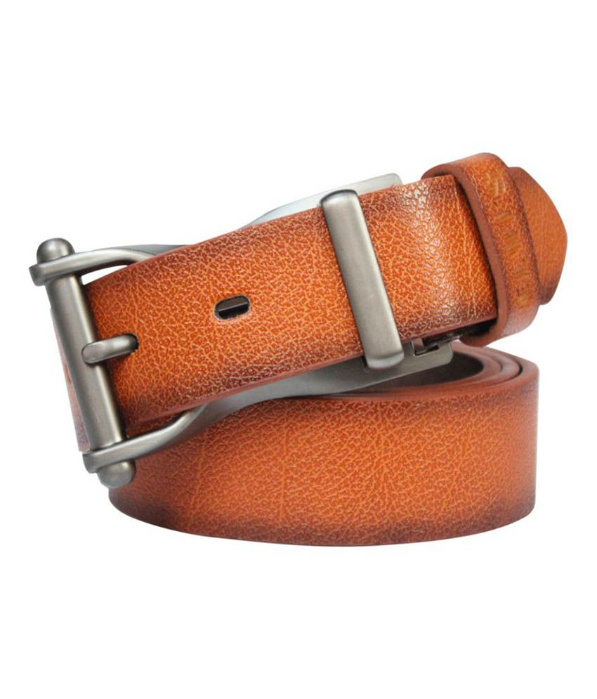 Winsome Deal Tan Faux Leather Casual Belts