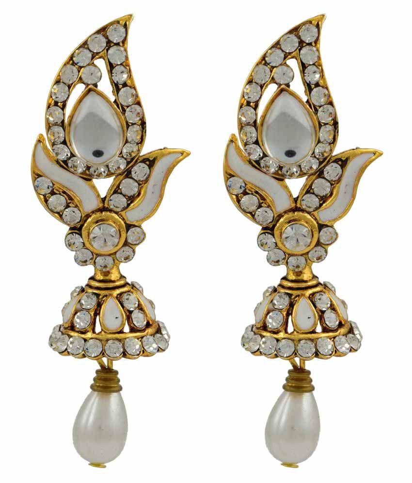 High Trendz Stylish Traditional Ethnic Hanging Earring