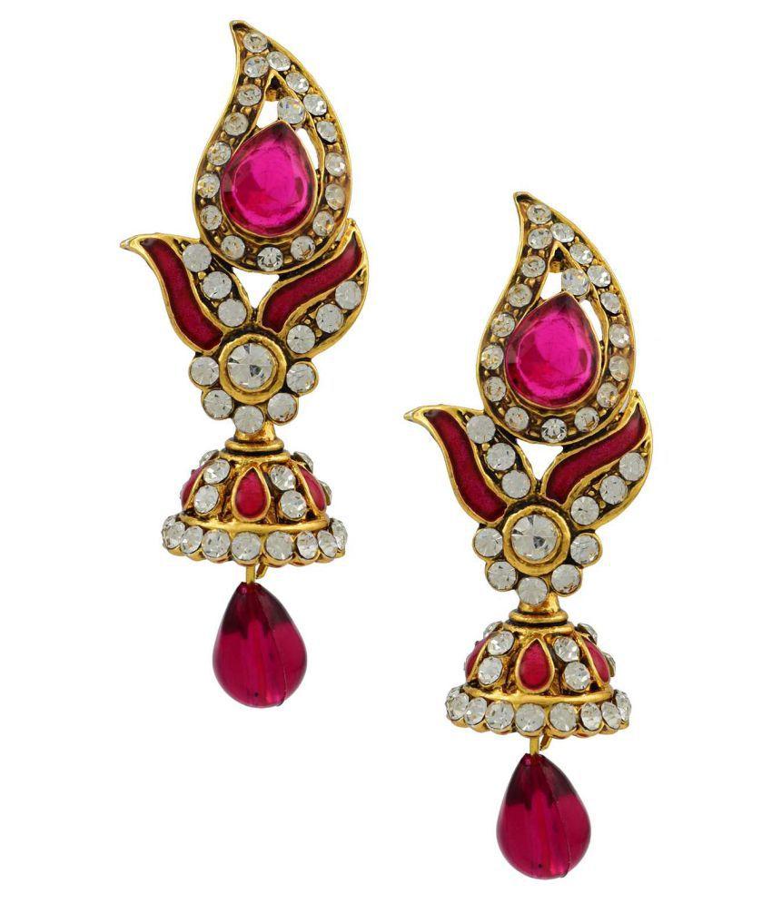 High Trendz Stylish Traditional Ethnic Hanging EarringHigh Trendz Stylish Traditional Ethnic Hanging Earring