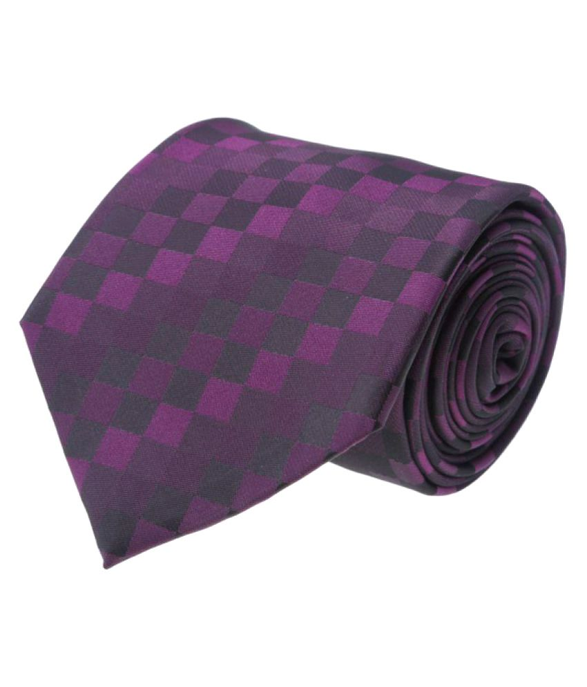 Calvadoss Purple Formal Necktie
