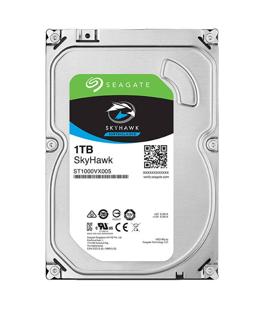 Seagate Skyhawk 1 TB Internal Hard Drive for Surveillance