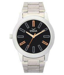 Volga Silver Analog Watch