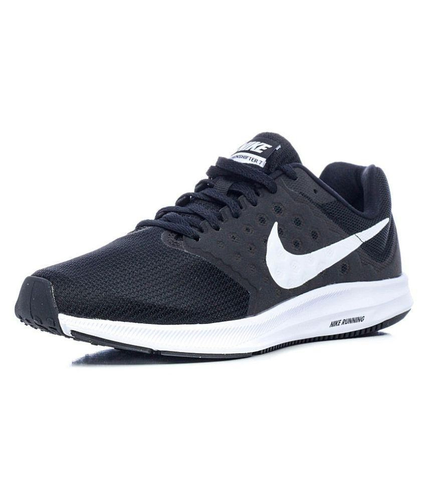 Nike Downshifter 7 Black Running Shoes - Buy Nike Downshifter 7 Black  Running Shoes Online at Best Prices in India on Snapdeal 4cebc57135b