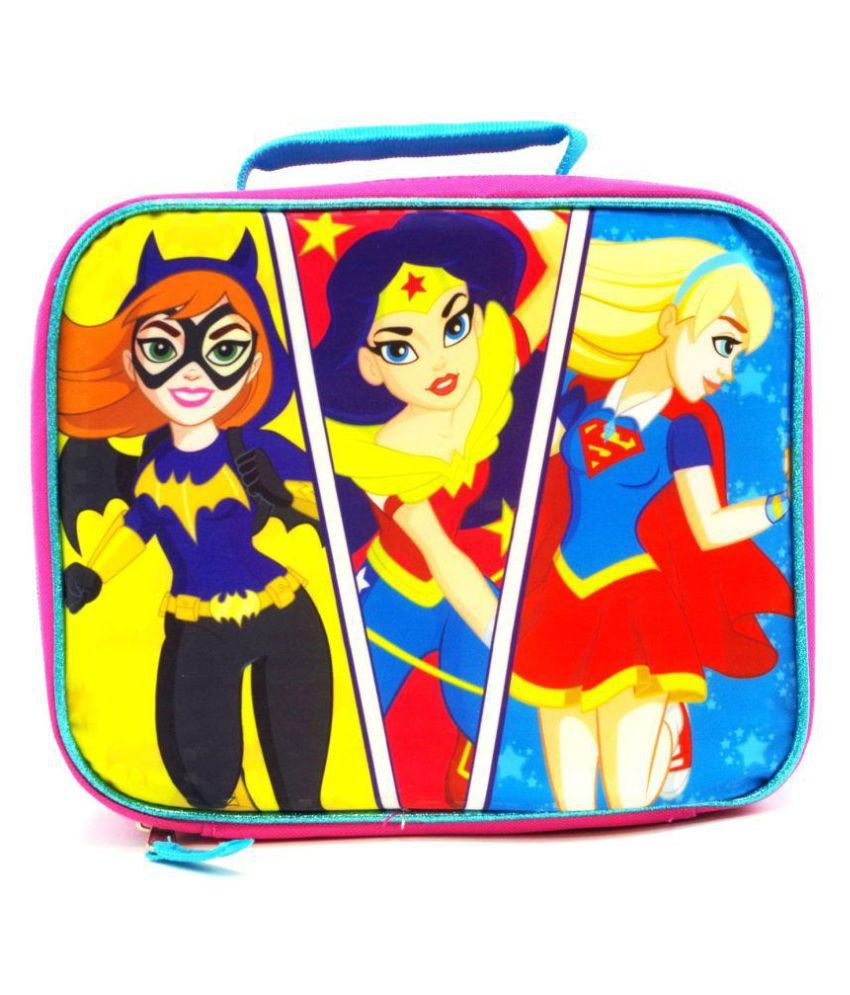 DC Super Hero Girls Lunch Bag: Buy Online at Best Price in