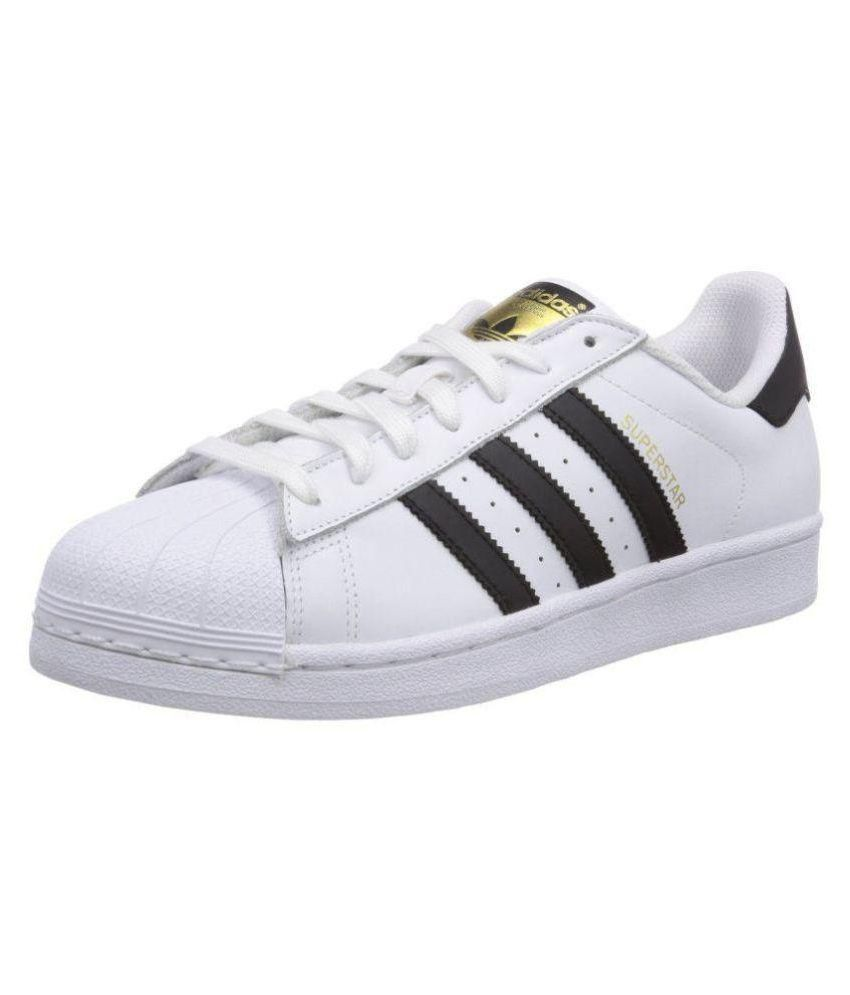 5135fe09c9fc Adidas Superstar White Running Shoes - Buy Adidas Superstar White Running  Shoes Online at Best Prices in India on Snapdeal