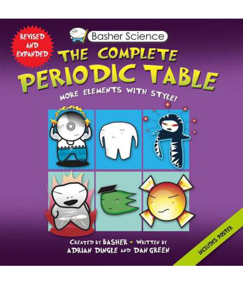 Basher science the complete periodic table buy basher science basher science the complete periodic table gamestrikefo Gallery