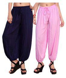 Comix Cotton Pack Of 2 Harem Pants
