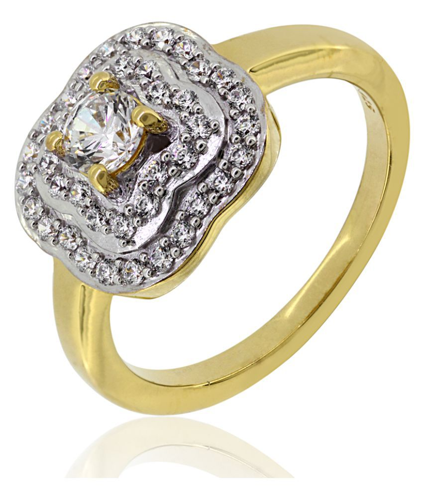 Joal 92.5 Silver Cubic zirconia Ring
