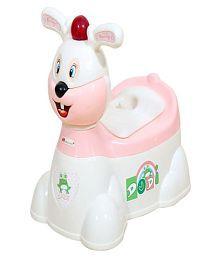 Harry & Honey White Plastic Potty Seat