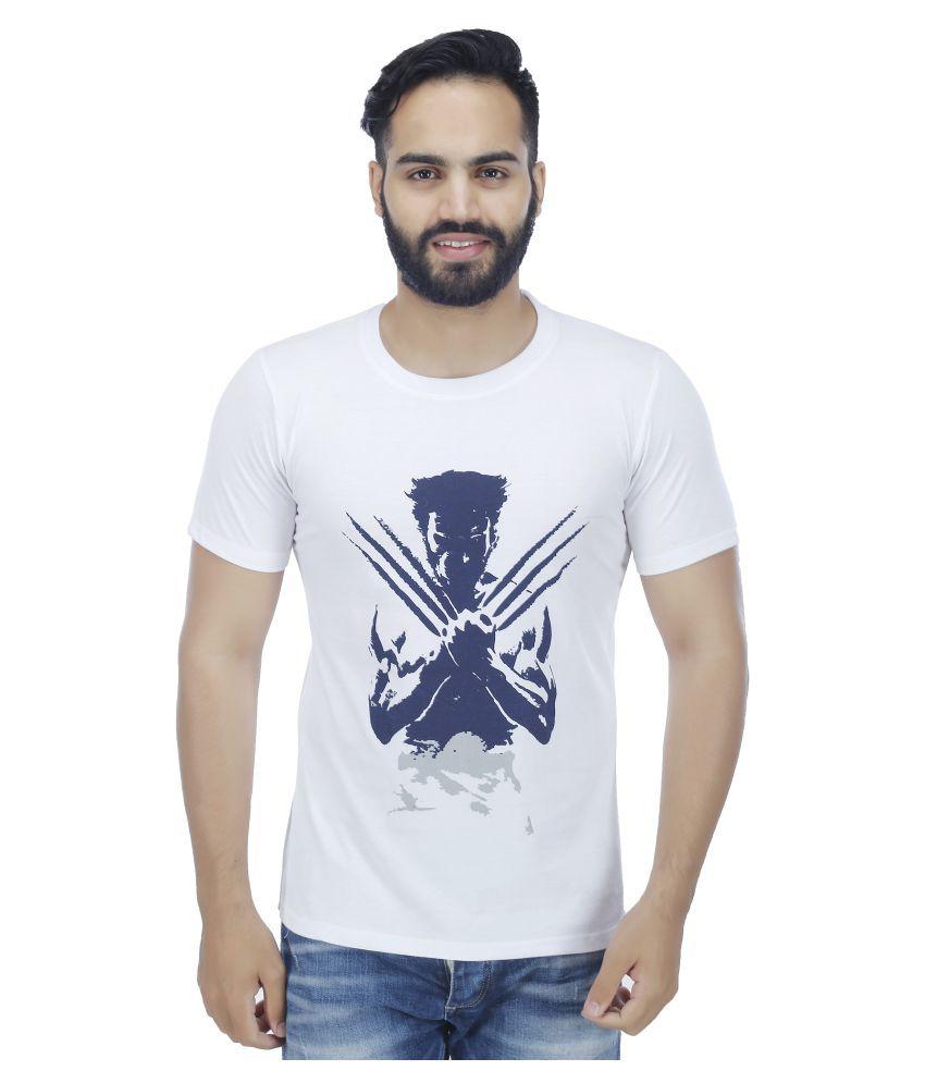 Christy World White Round T-Shirt
