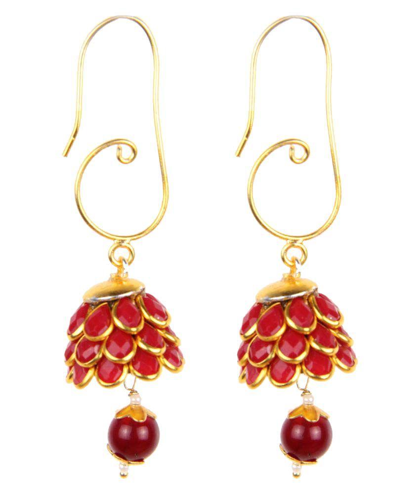 Makezak Beautiful Red Hangings For Women And Girls.