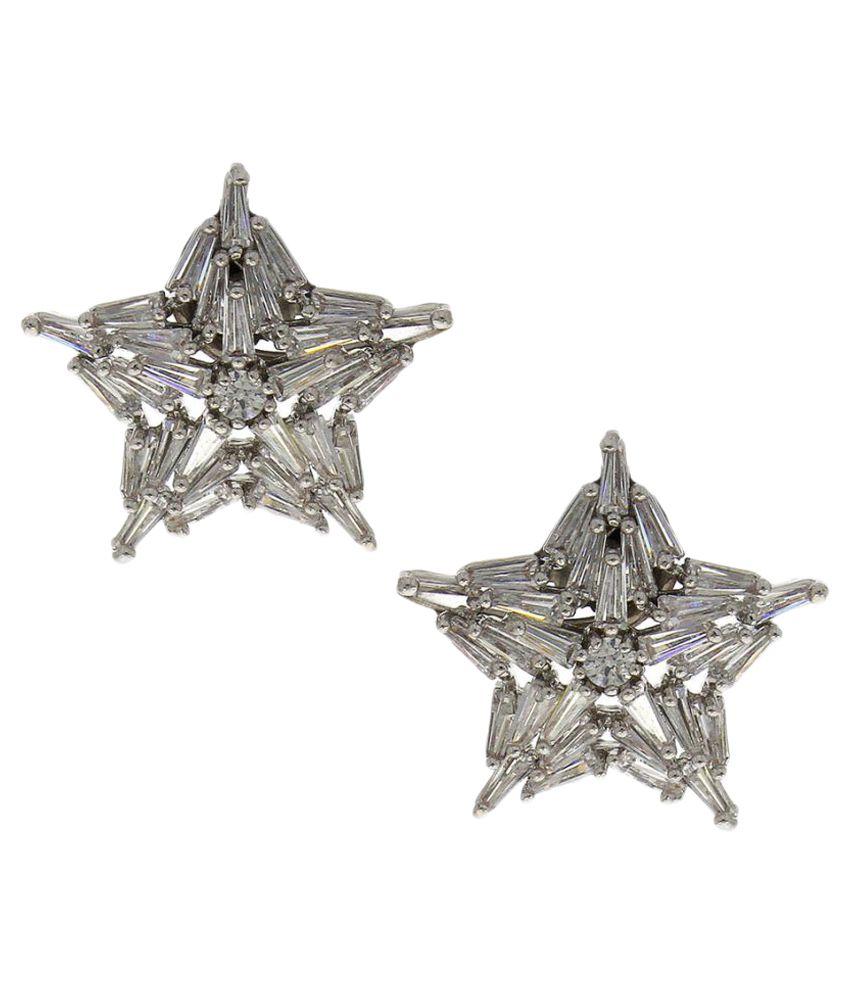 Anuradha Art Silver Earrings