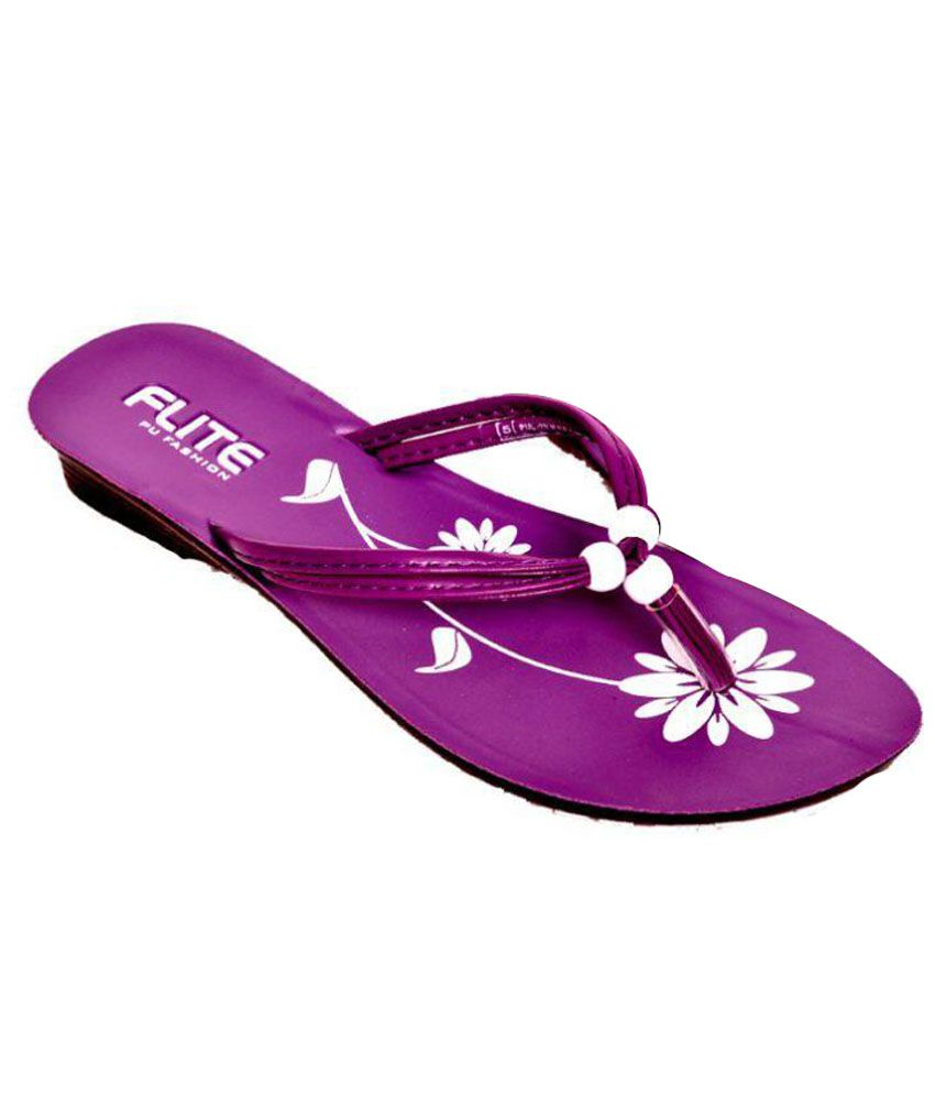 409bd539a1c Flite Purple Slippers Price in India- Buy Flite Purple Slippers Online at  Snapdeal