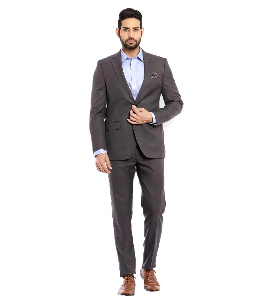 Raymond Grey Washed Formal Suit