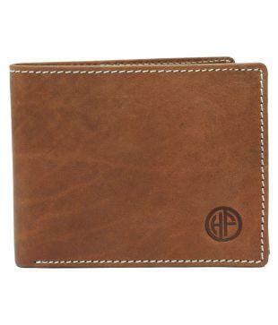 Hammonds Flycatcher Genuine Leather Brown Formal Regular Wallet