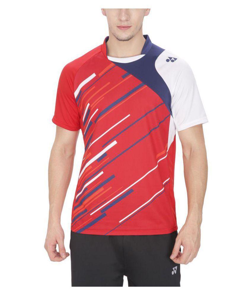 Yonex Red T Shirts