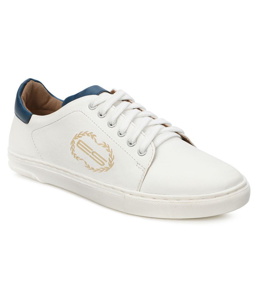 Escaro Sneakers White Casual Shoes