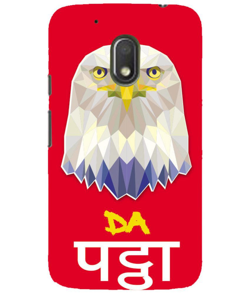 Moto G4 Play Printed Cover By PrintVisa