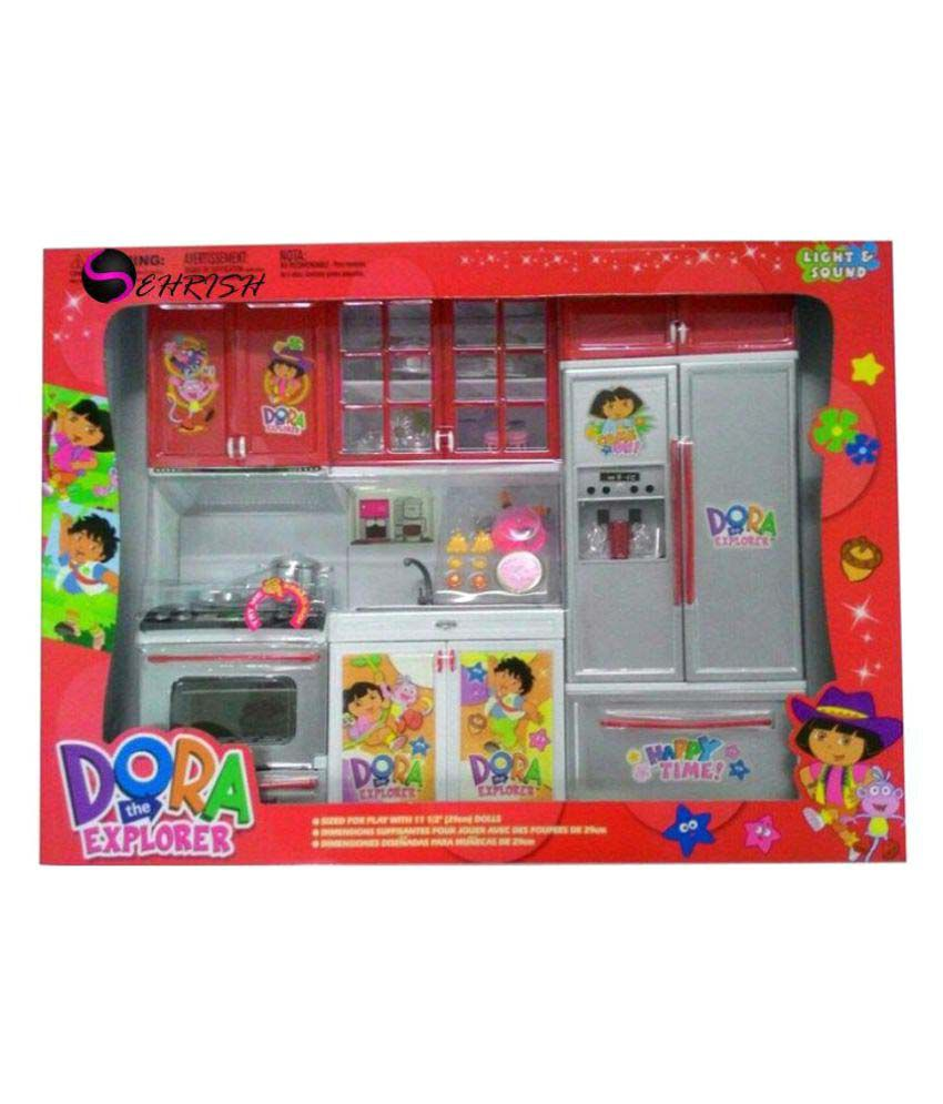Sehrish Dora Kitchen Set Buy Sehrish Dora Kitchen Set Online At Low Price Snapdeal