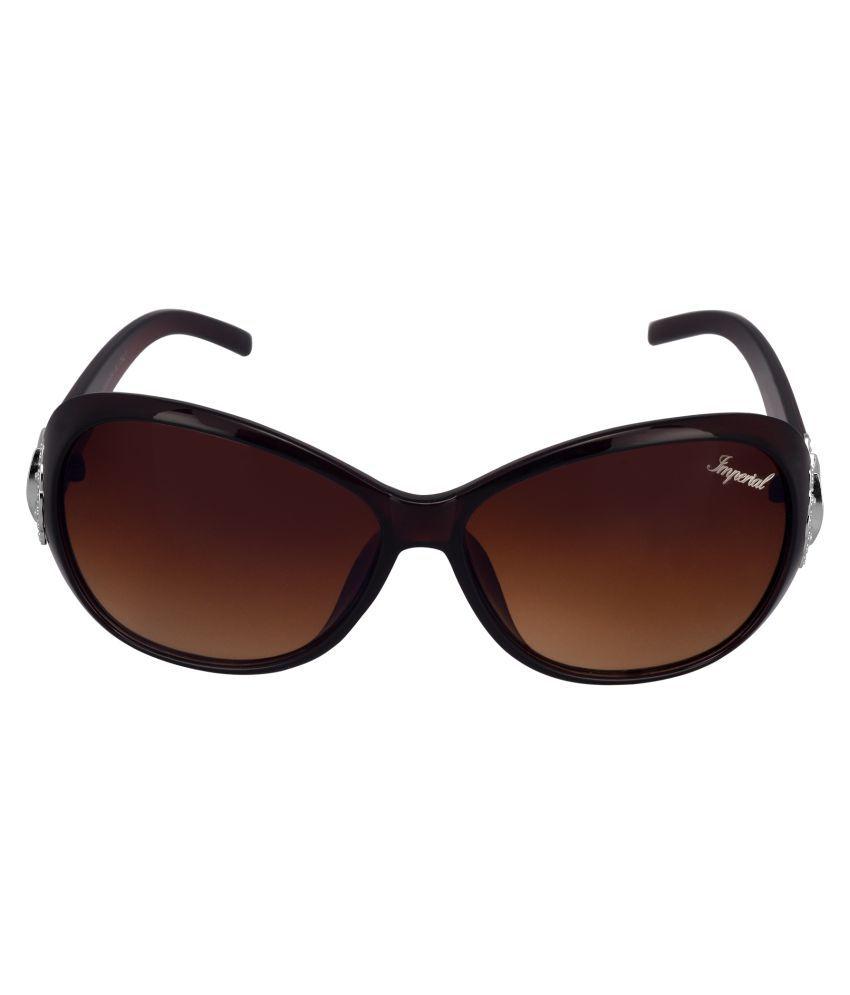 Imperial Club Brown Wayfarer Sunglasses ( WY011 )