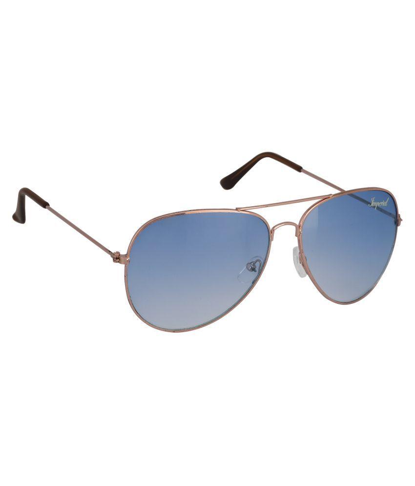 Imperial Club Blue Aviator Sunglasses ( wy016 )