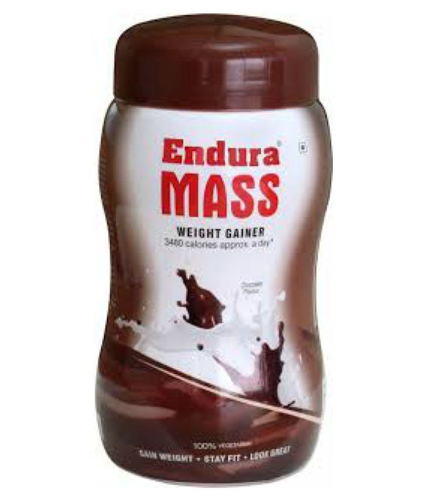 Endura MASS WEIGHT GAINER 500 gm Chocolate Weight Gainer Powder