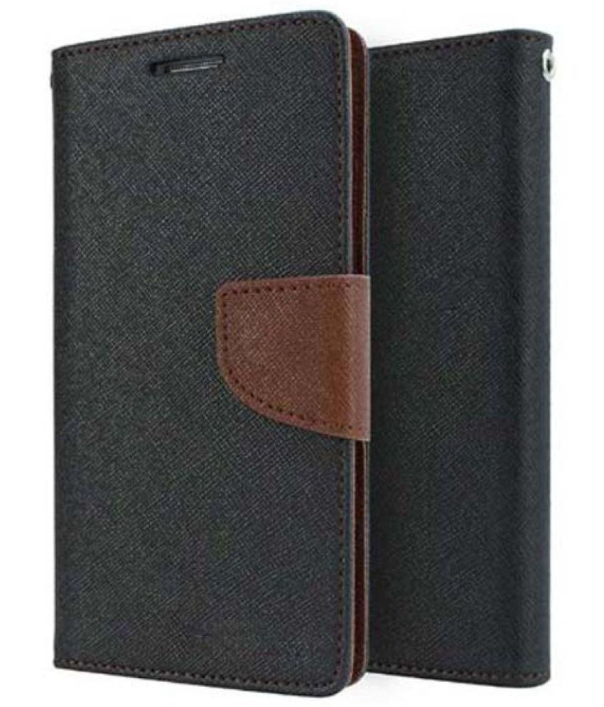 timeless design d1be3 36679 Huawei P9 Lite Flip Cover by Levax - Brown