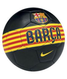 Nike Fcb Barcelona (replica) Black Football Size- 5