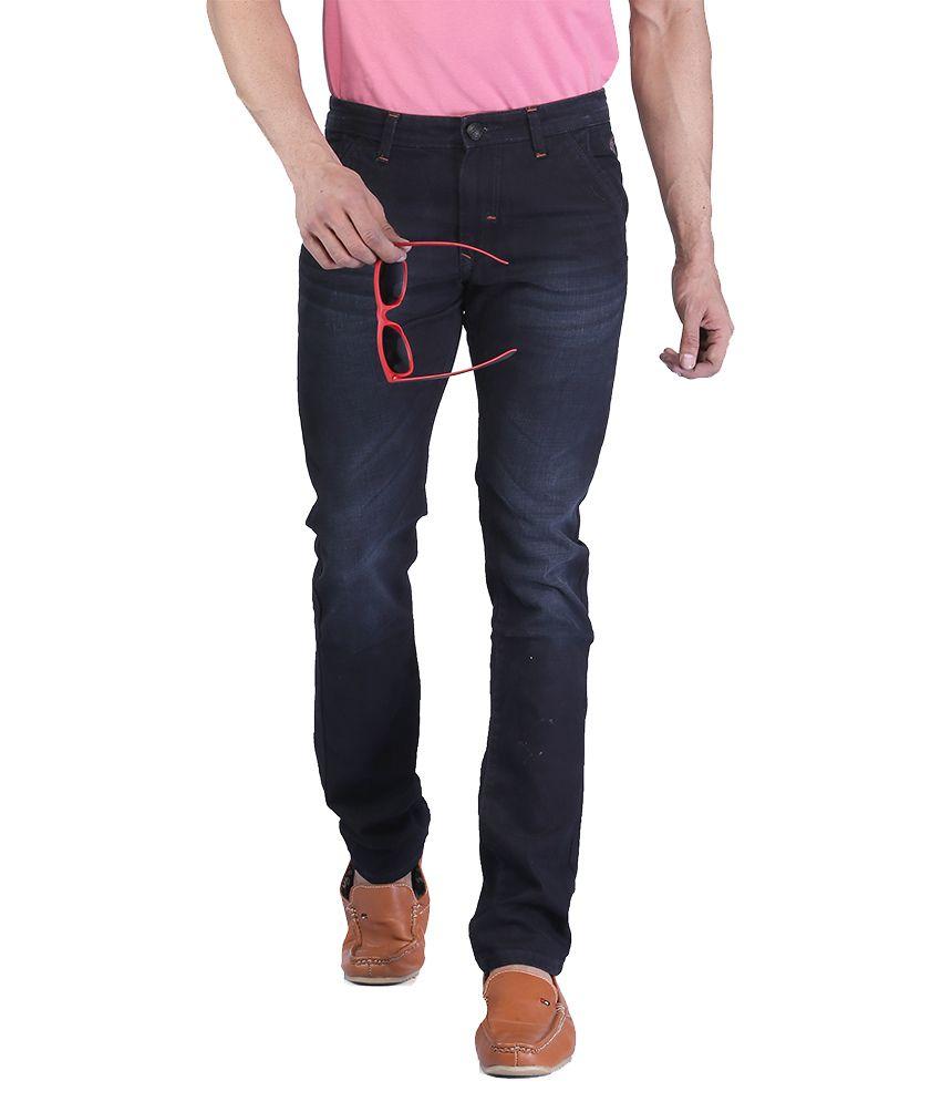 Nostrum Dark Blue Slim Jeans