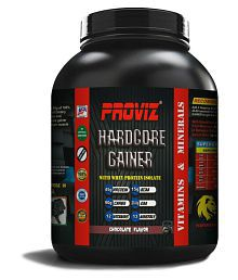 PROVIZ HARDCORE LEAN MASS GAINER (2:1) 3 Kg Chocolate Mass Gainer Powder - 661029503358