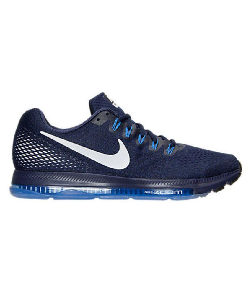 ... Nike Zoom All Out Low Navy Running Shoes ...