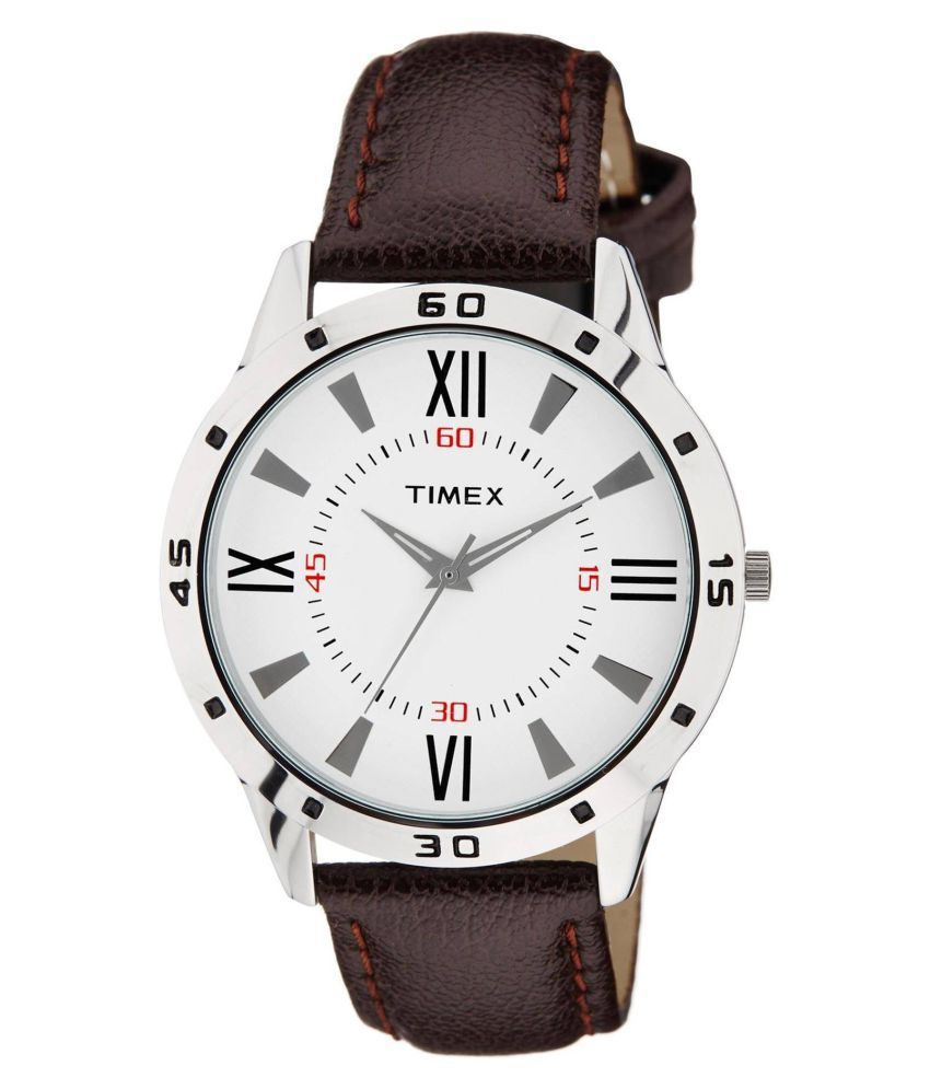 Timex creates beautiful designer watches, featuring a wide range of hand-wound leather strap watches, adding the perfect finishing touch to any outfit. Explore their clearance sale to take 50% off your orders of classics like vintage-style watches.