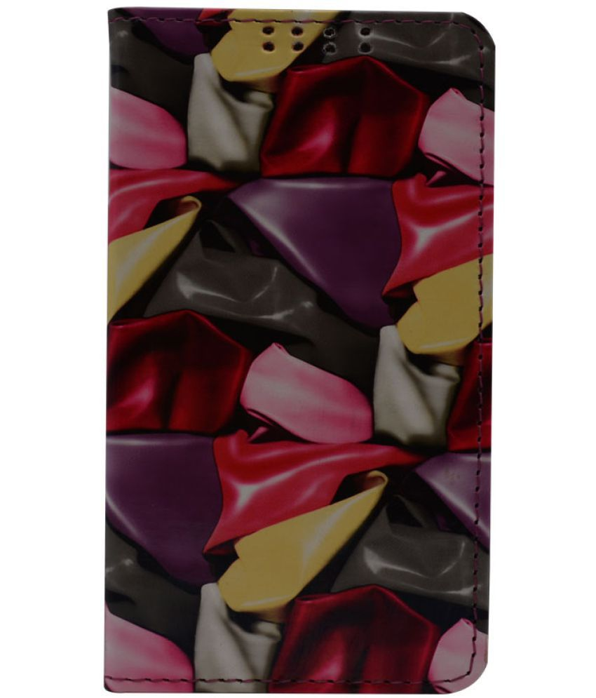 Apple iPhone 6 Flip Cover by Dsas - Red