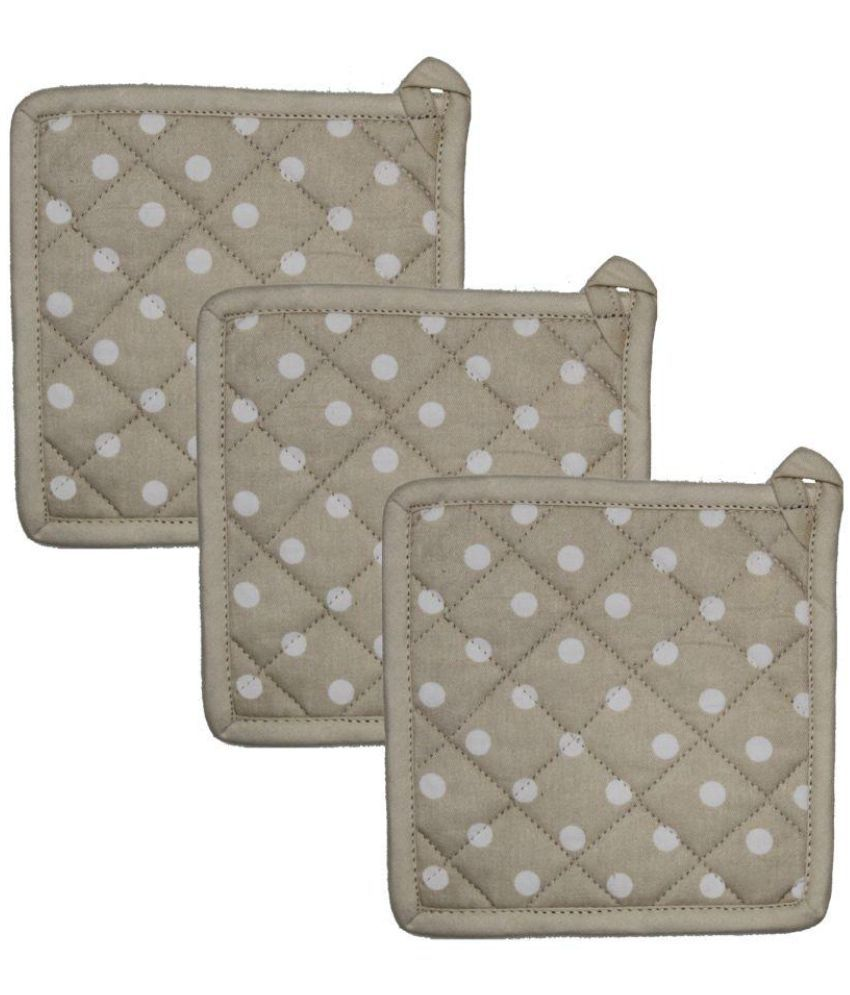 Airwill Cotton Designer Pot Holders (Pack of 3 pcs).