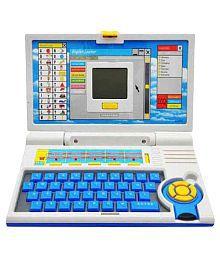 DK-Estors English Learner Educational Laptop For Kids - Blue